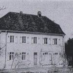 das alte Forsthaus (bis 1968)