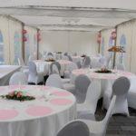 Hochzeit Forsthaus Kalkofen - Runde Tische
